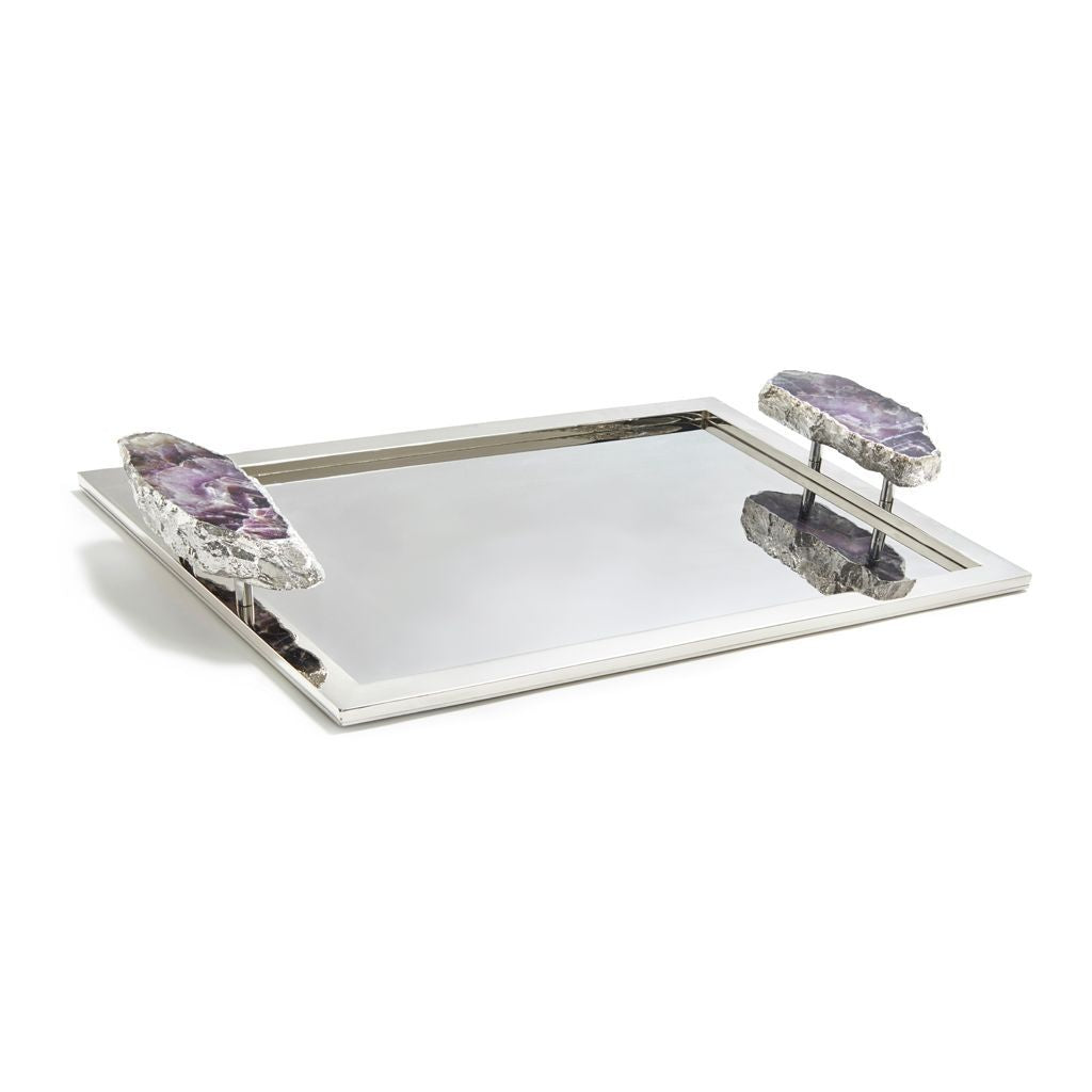 HERITAGE LARGE TRAY PURPLE