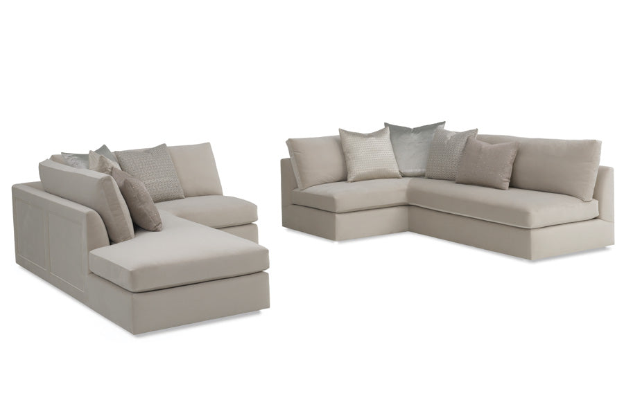 Messina Corner Sectional (with paneling)