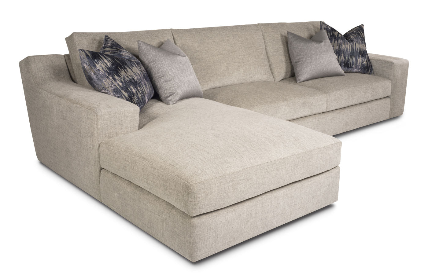 Slope 2pc Chaise Sectional