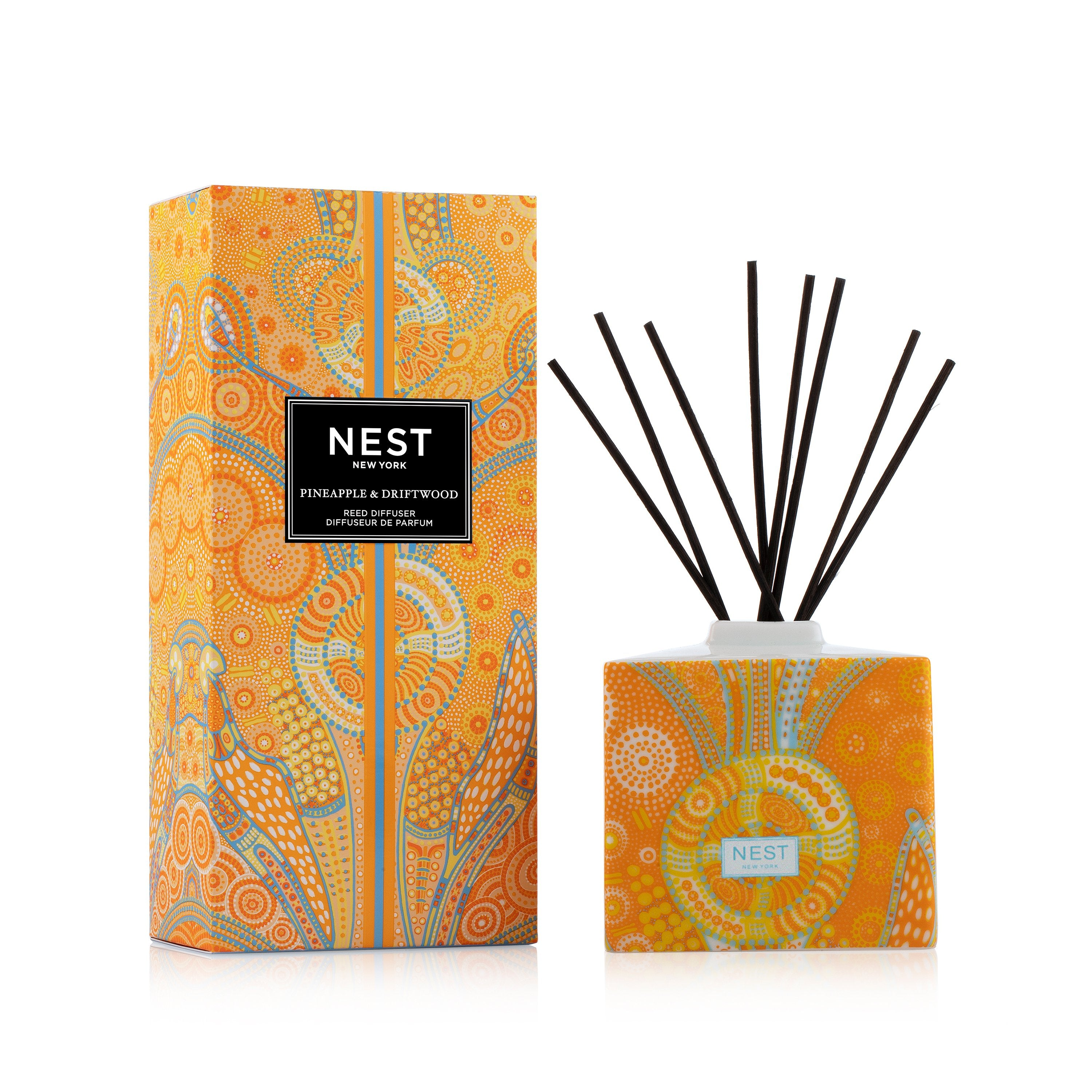 Limited Edition Reed Diffuser Pineapple and Driftwood