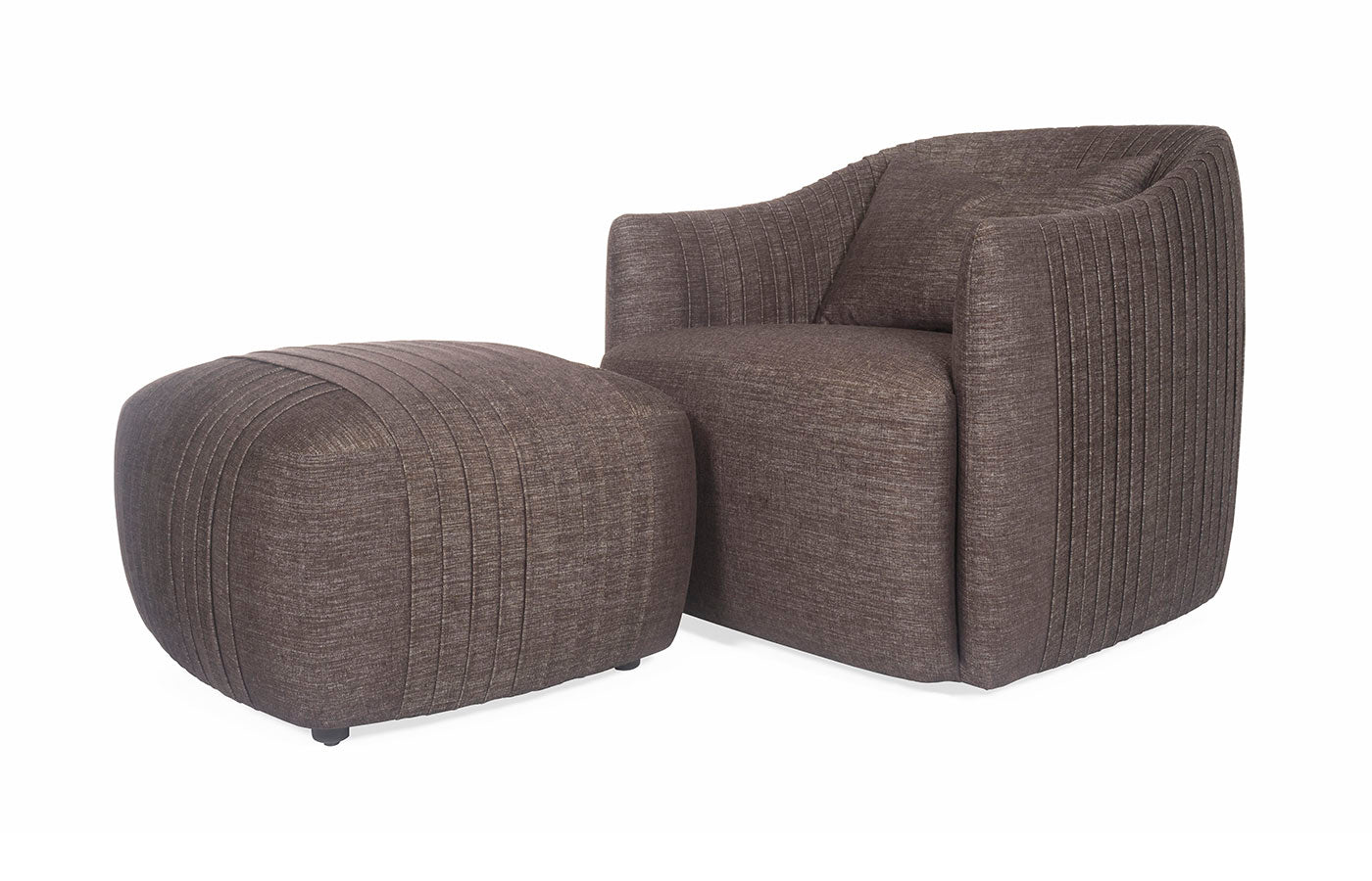 Viki Chair & Swivel Chair (with Ottoman)