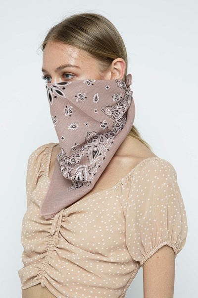 Classic Bandana Scarves/Face Covering