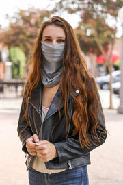 Solid Gaiter Face Covering (2 COLORS)
