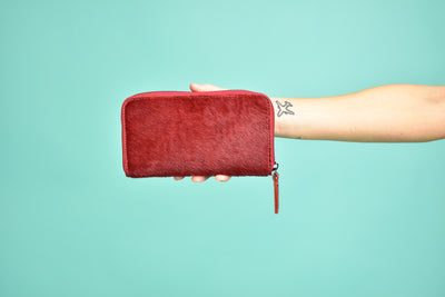 Red Fur Wallet