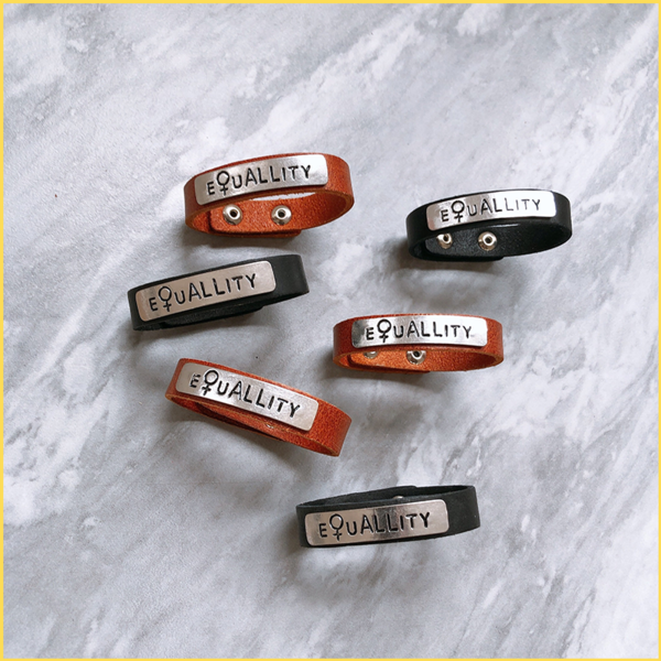 Equality Leather Bracelet