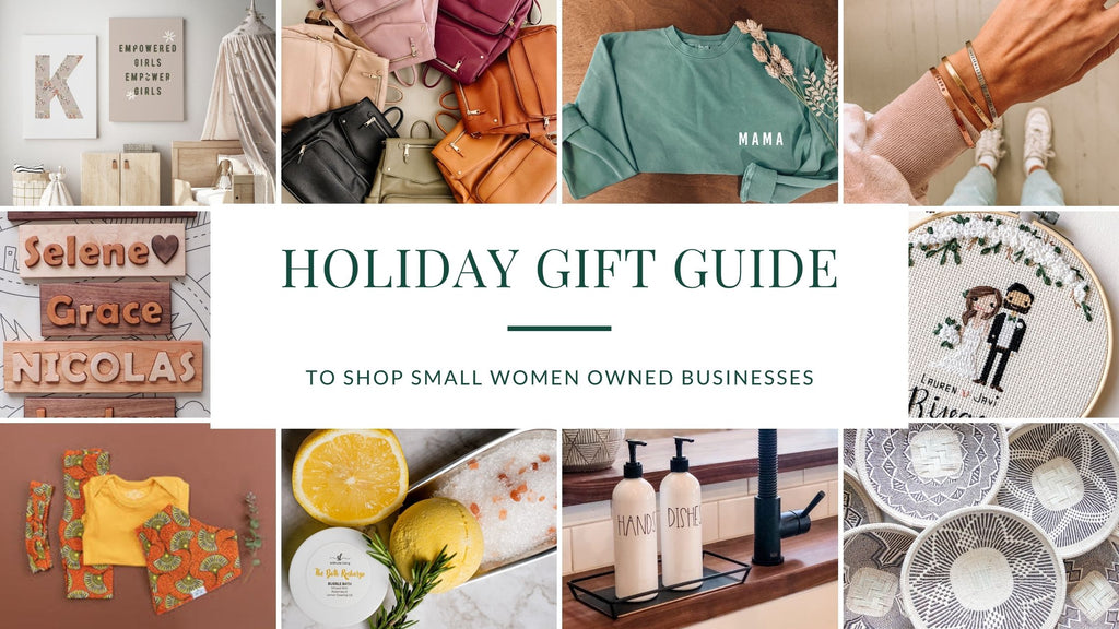 2020 holiday gift guide to support small women owned businesses