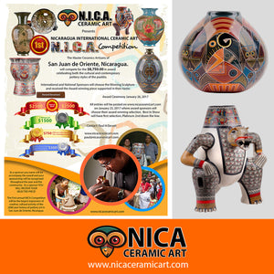 Three Part Video Series on the Nicaragua International Ceramic Art Competition