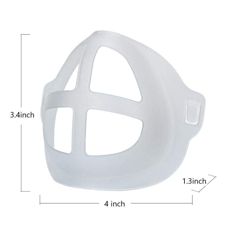 3D Mask Bracket  Mask Accessories Breathing Smoothly And Cool Silicone Mask Holder Breathable Valve Health Care Accessories