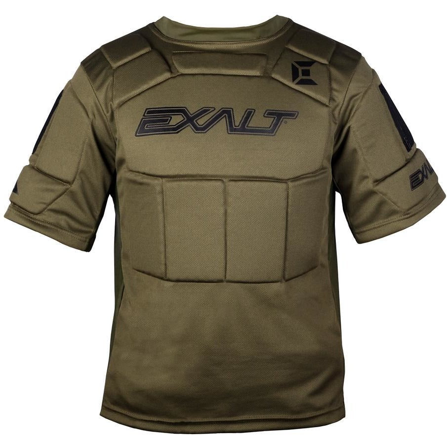Exalt Alpha Chest Protector - Olive