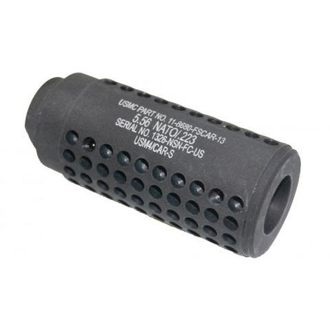 AR-15 Gen 2 Micro Reverse Thread Slip Over Socom Style Fake Suppressor