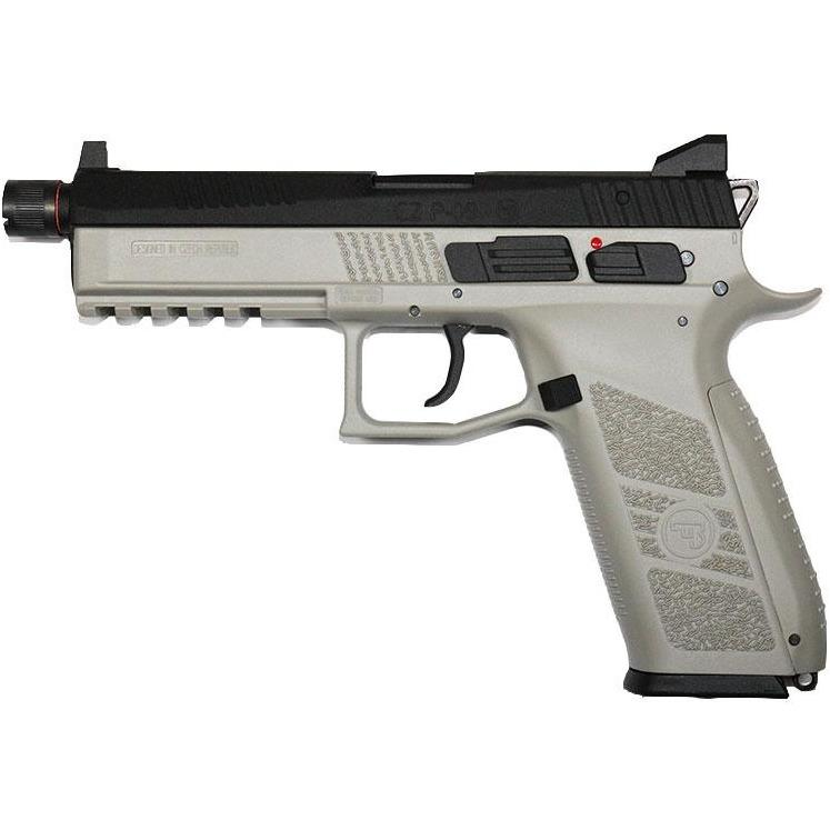 ASG CZ P-09 Duty (URBAN GREY) Co2 GBB - Maier Action Games