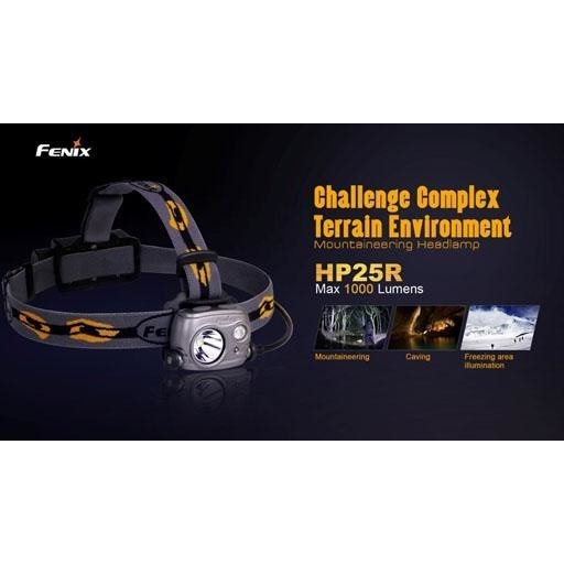 Fenix HP25R Headlamp - 1000 Lumen