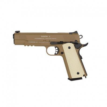 KWA 1911 MKII PTP GBB Airsoft Pistol Dark Earth