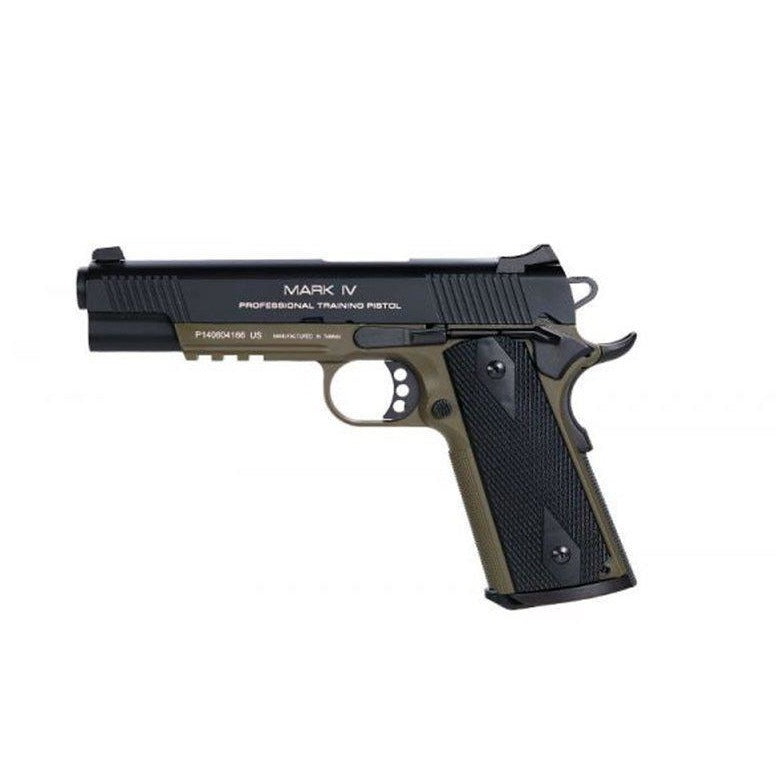 KWA 1911 MKIV PTP GBB Airsoft Pistol OD Green - Maier Action Games
