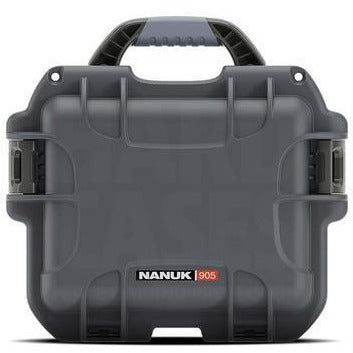 Nanuk 905 Case W/ Padded Dividers - Graphite