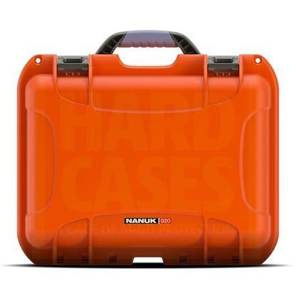 Nanuk 920 Case w/ cubed foam - Orange