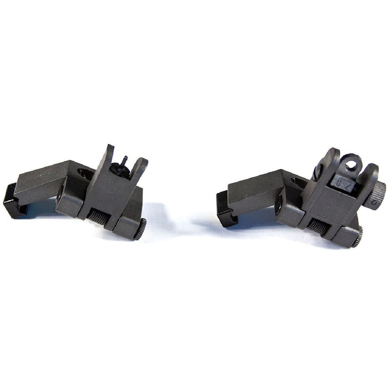【Pro Series】45 Degree Offset Flip Up Sight Kit - Black