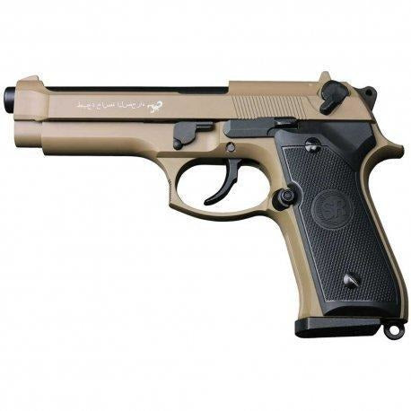 SRC SR92 DESERT CO2 Airsoft Pistol
