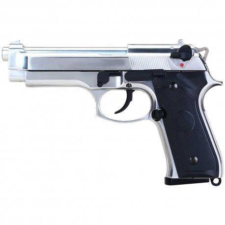 SRC SR92 INOX CO2 Airsoft Pistol - Maier Action Games