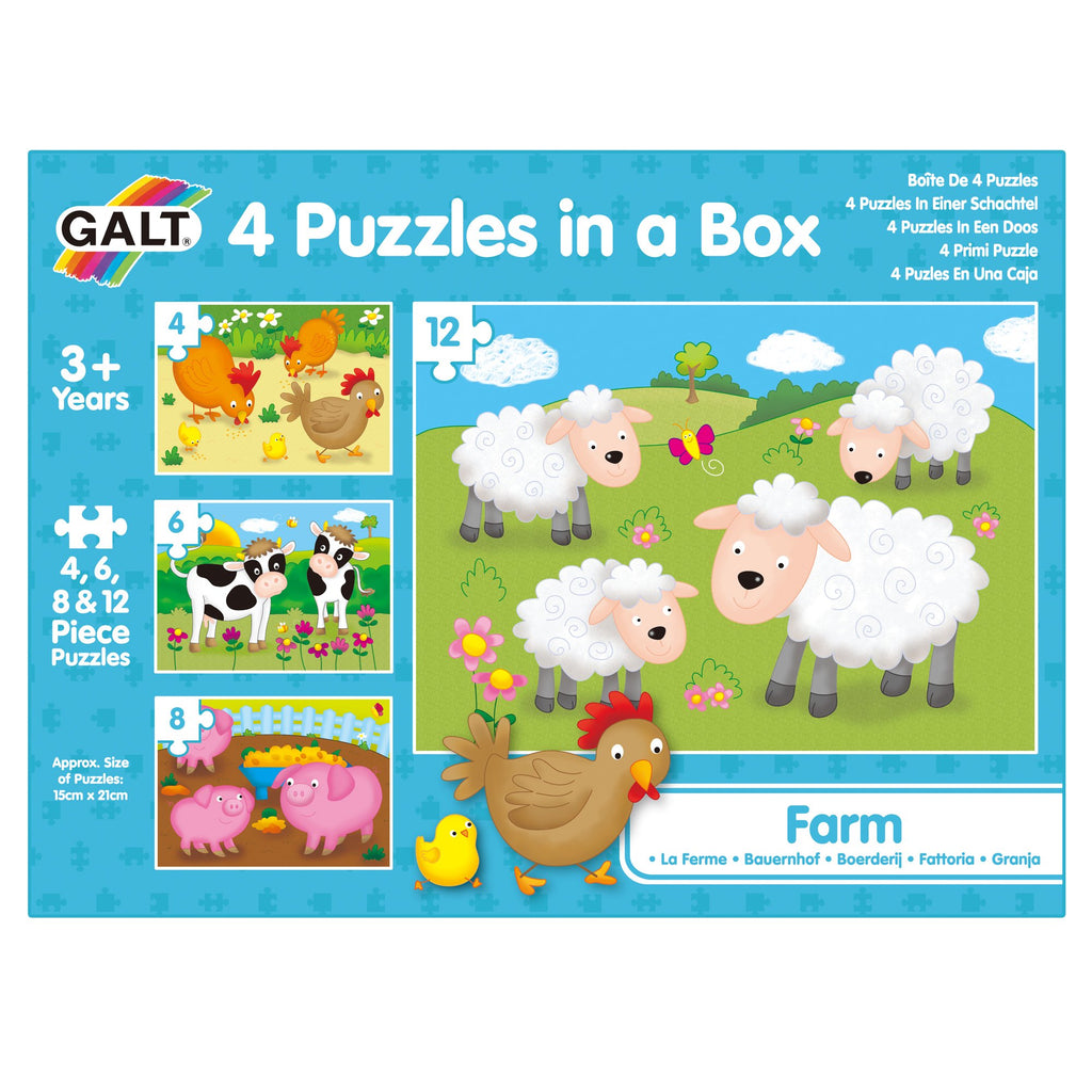 4 Puzzles in a Box - Farm