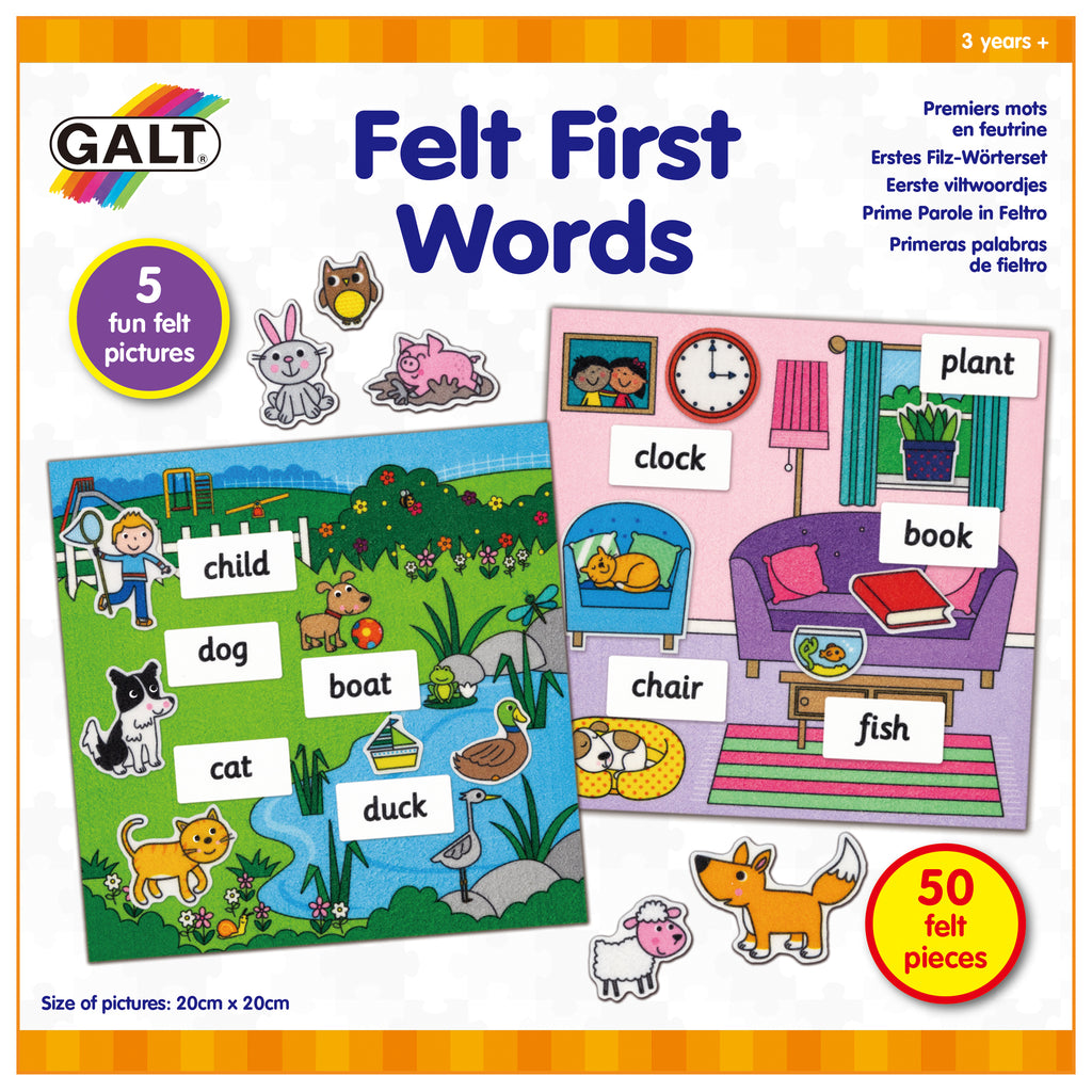 Felt First Words