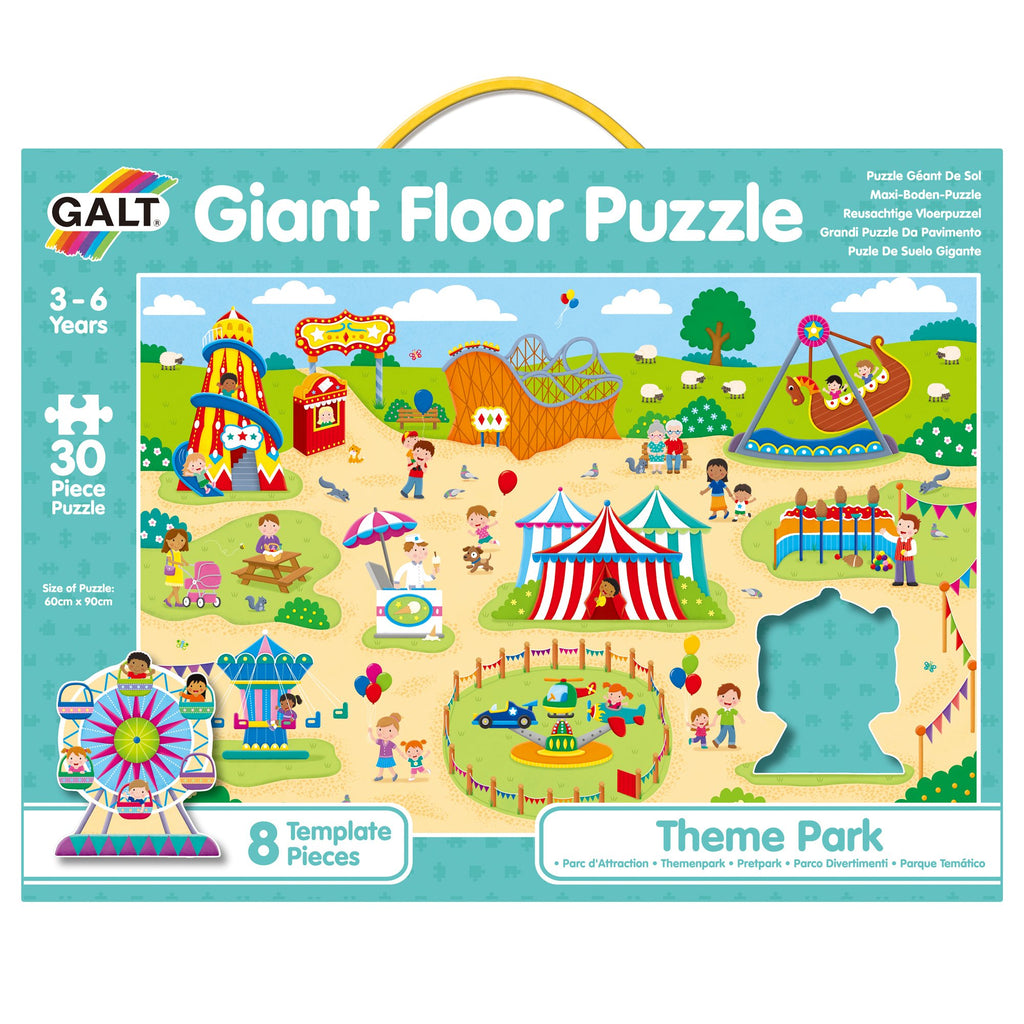 Giant Floor Puzzle - Theme Park