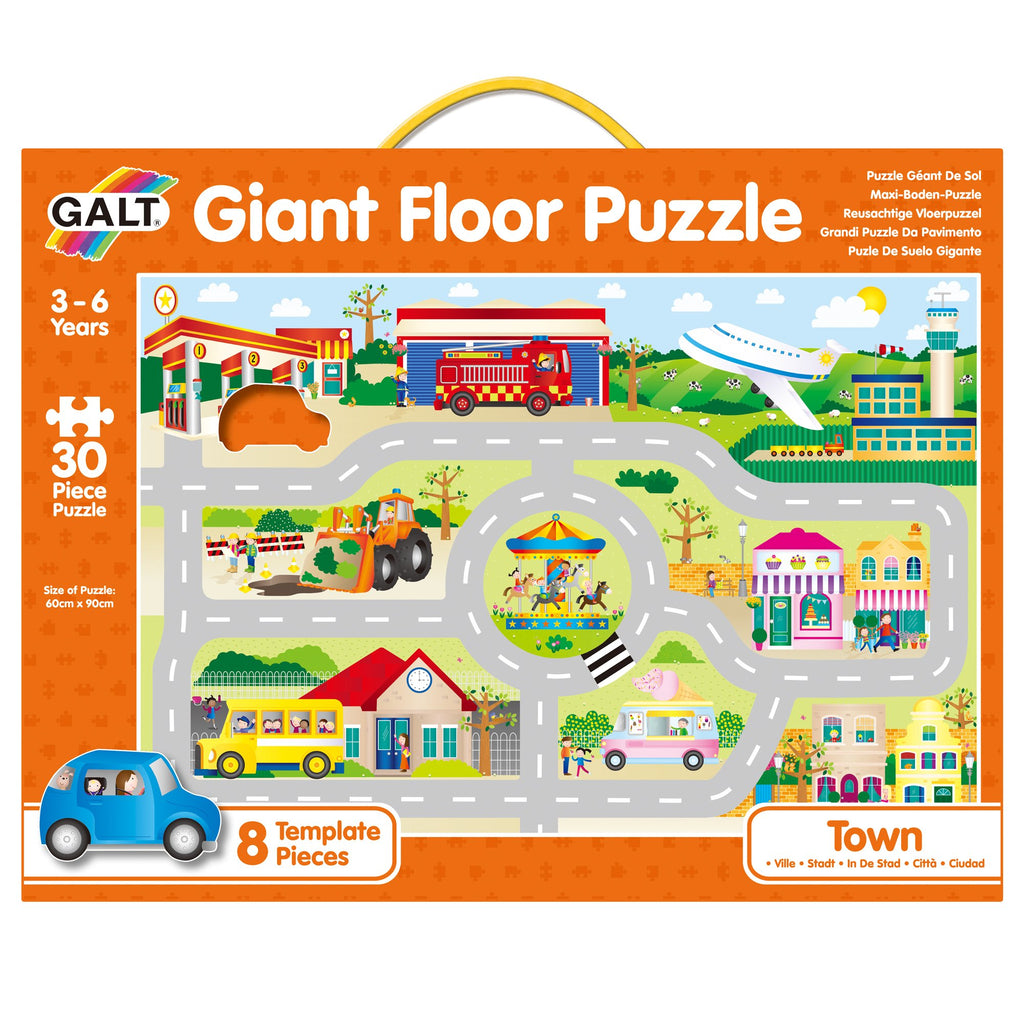 Giant Floor Puzzles Town