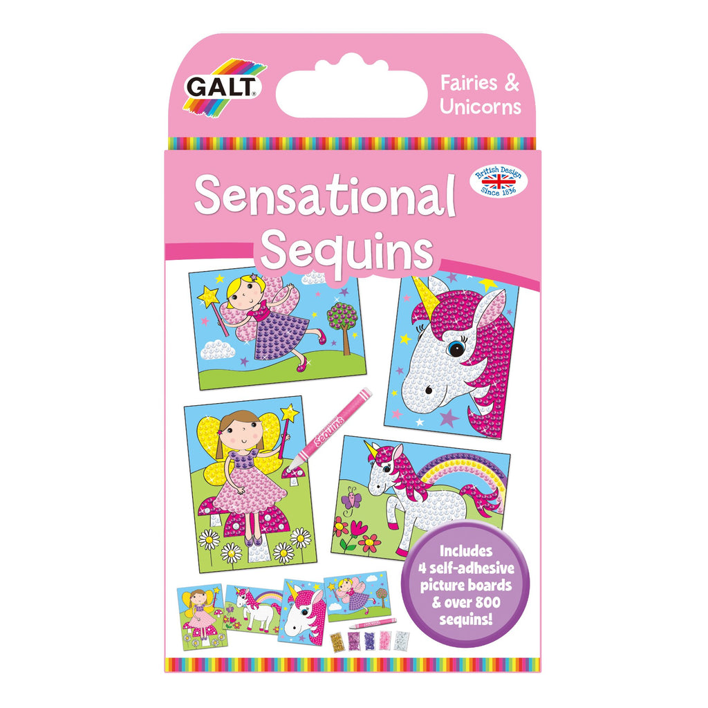 Fairies and Unicorns Sensational Sequins