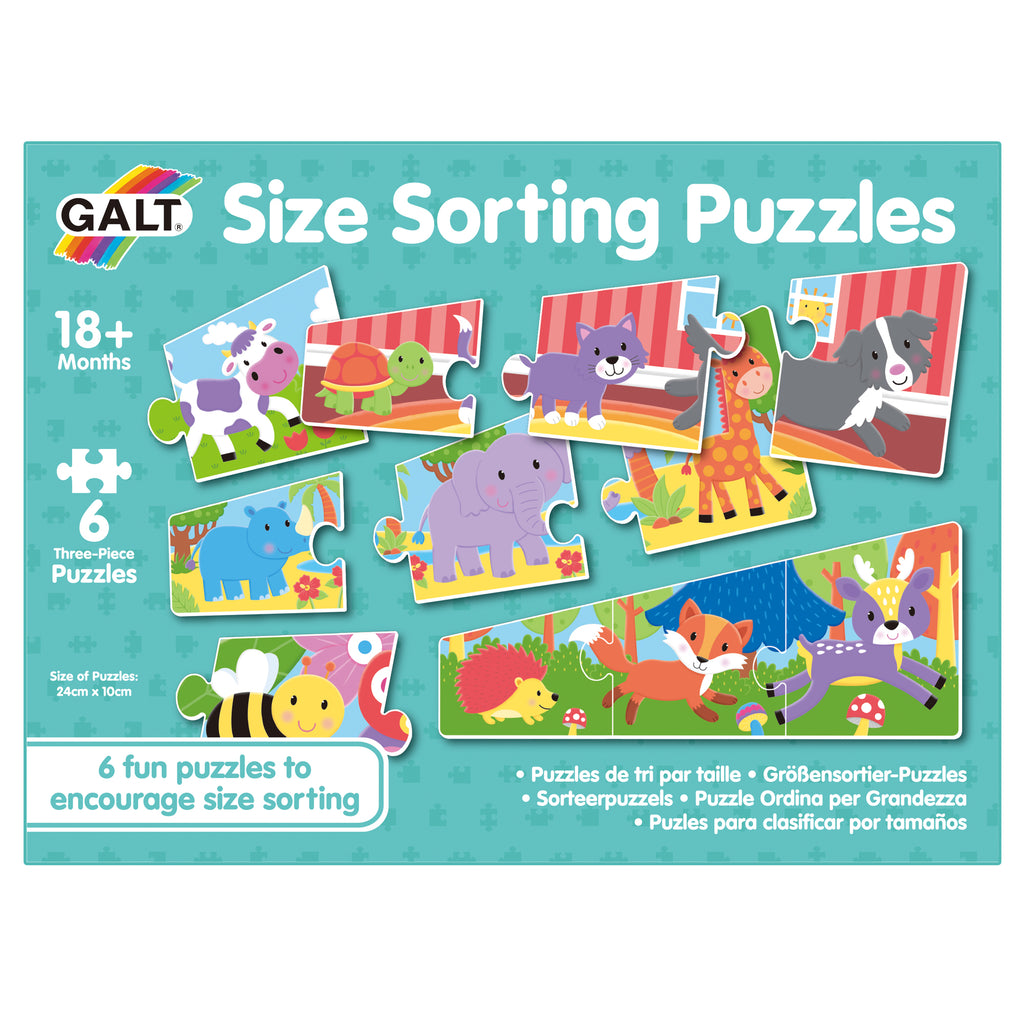 Size Sorting Puzzles