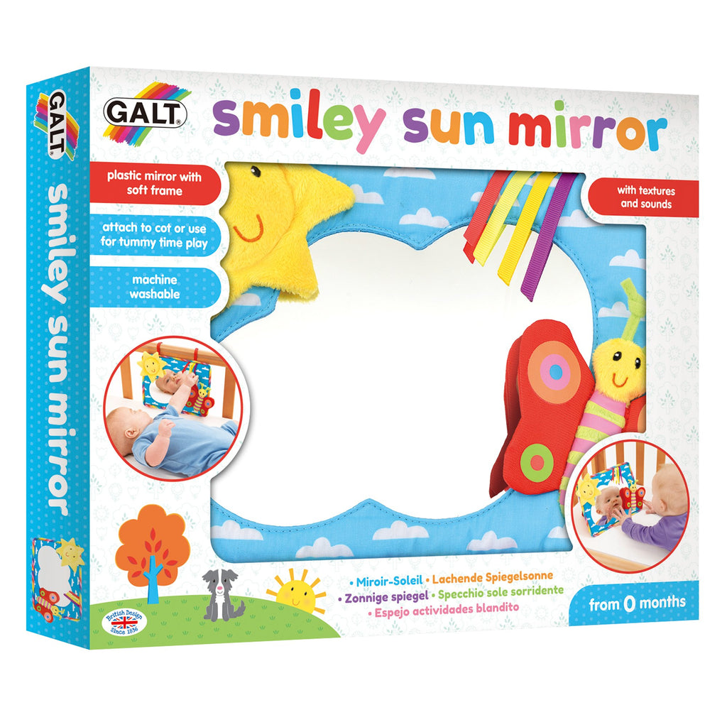Smiley Sun Mirror