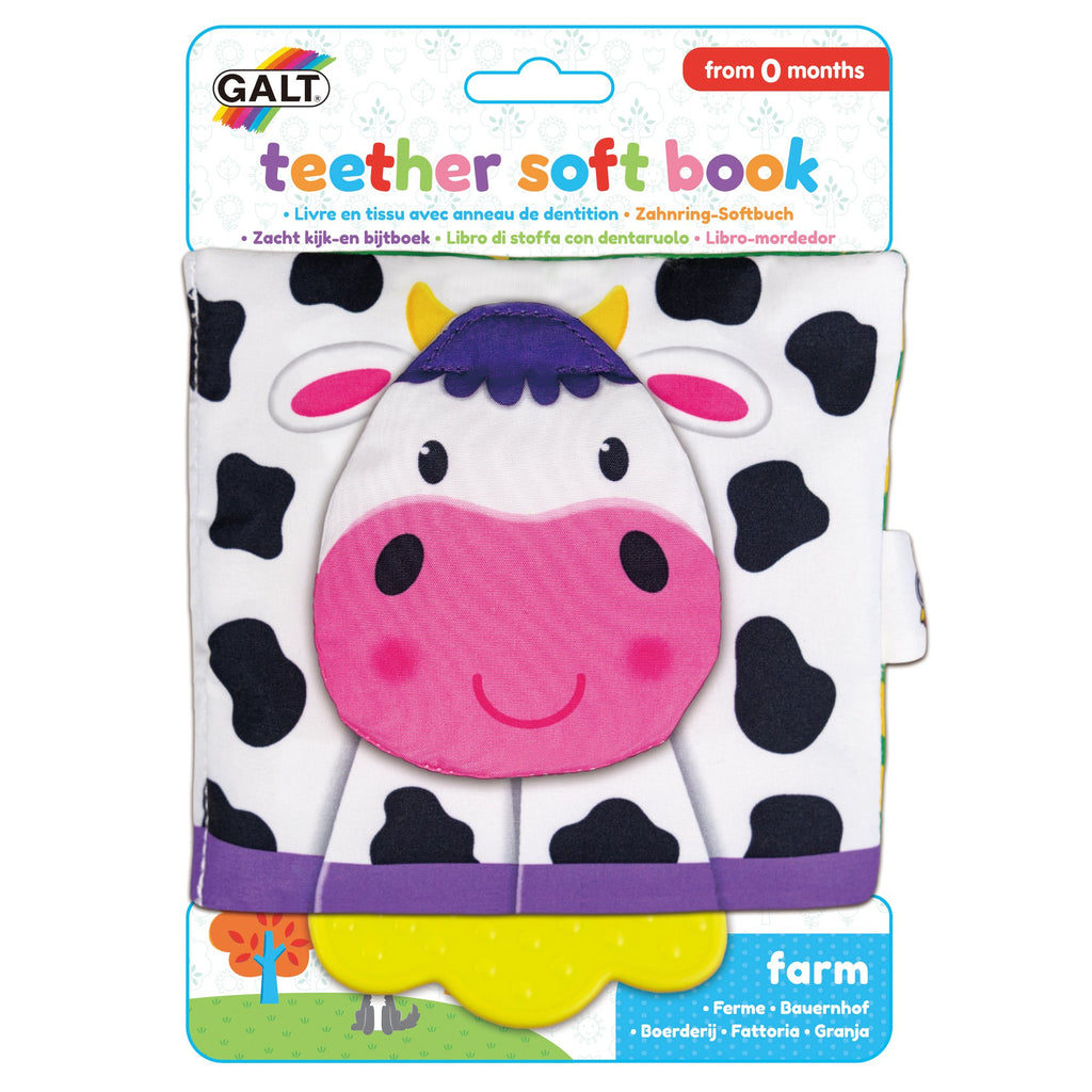 Teether Soft Book - Farm
