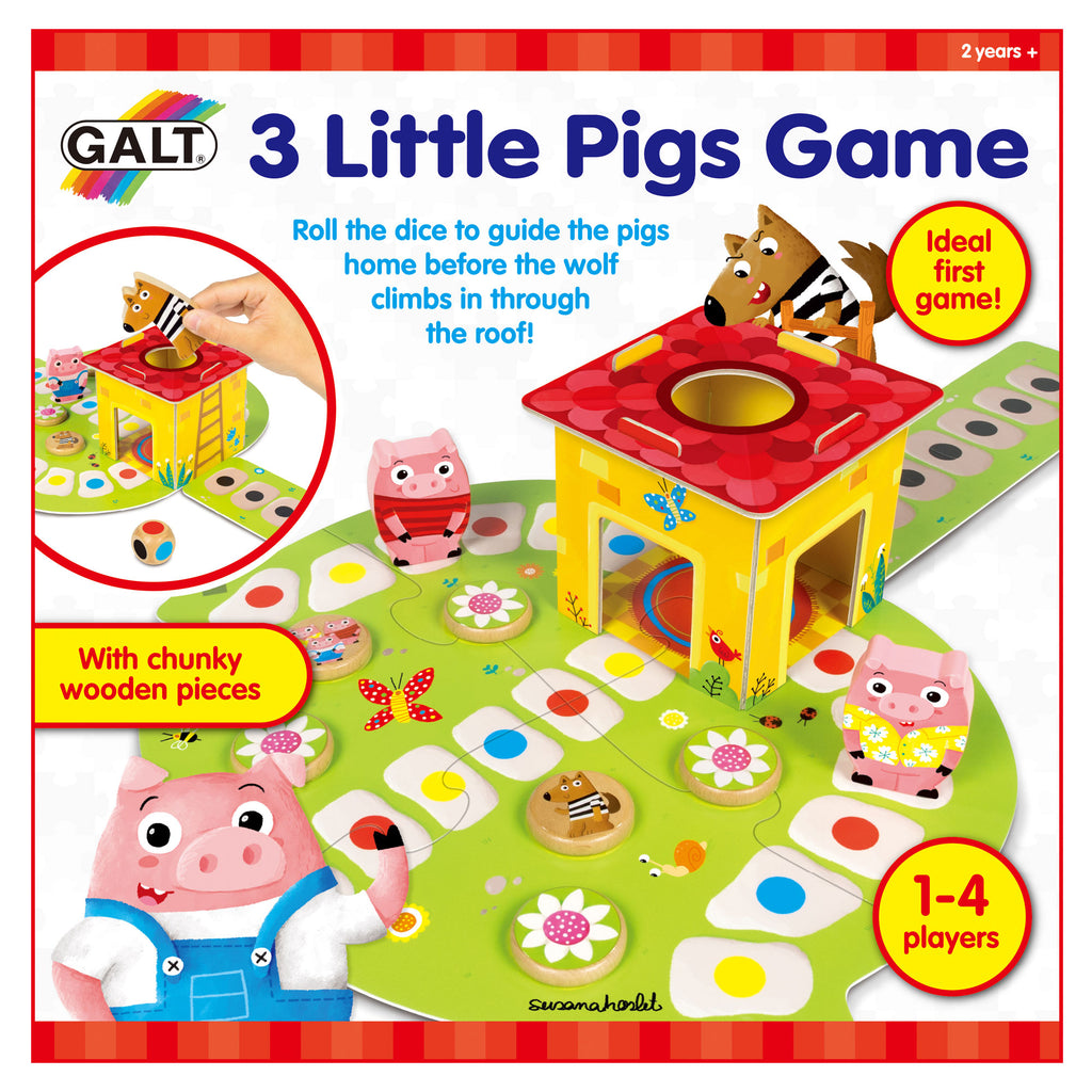 3 Little Pigs Game