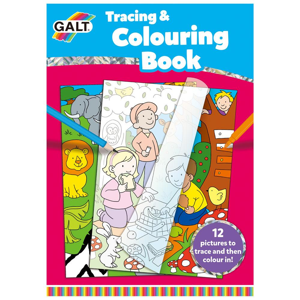 Tracing and Colouring Book