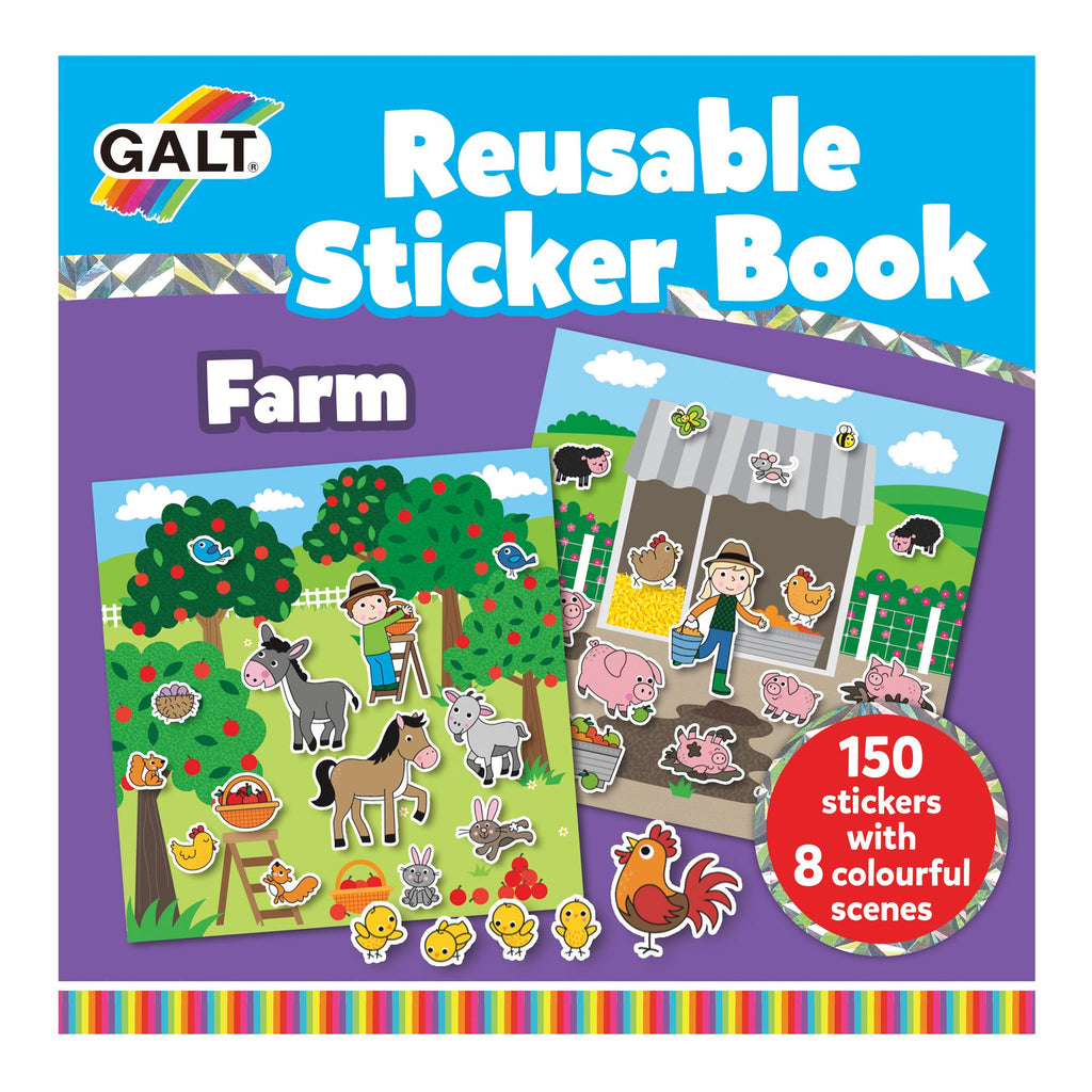 Reusable Sticker Books - Farm