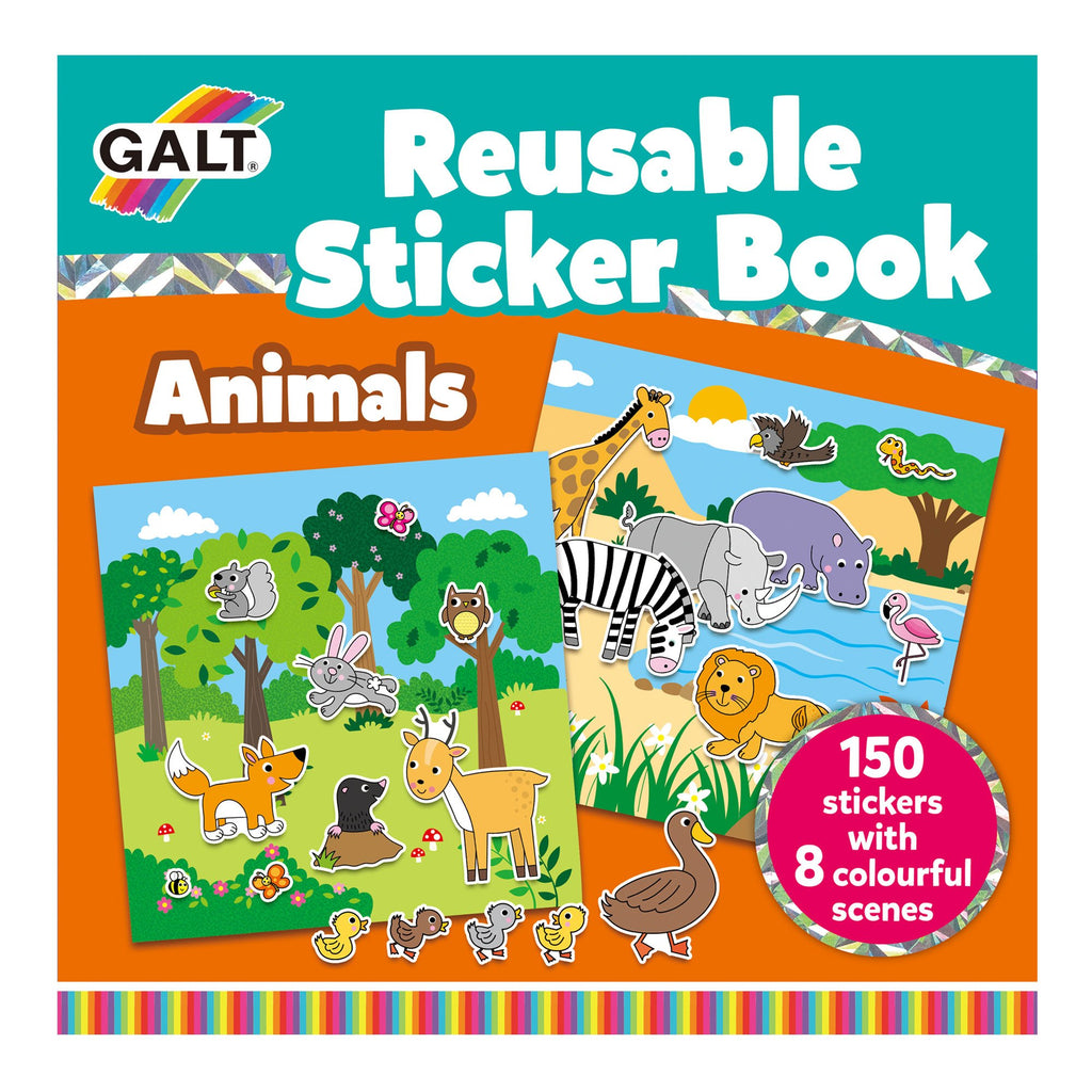 Reusable Sticker Books - Animals