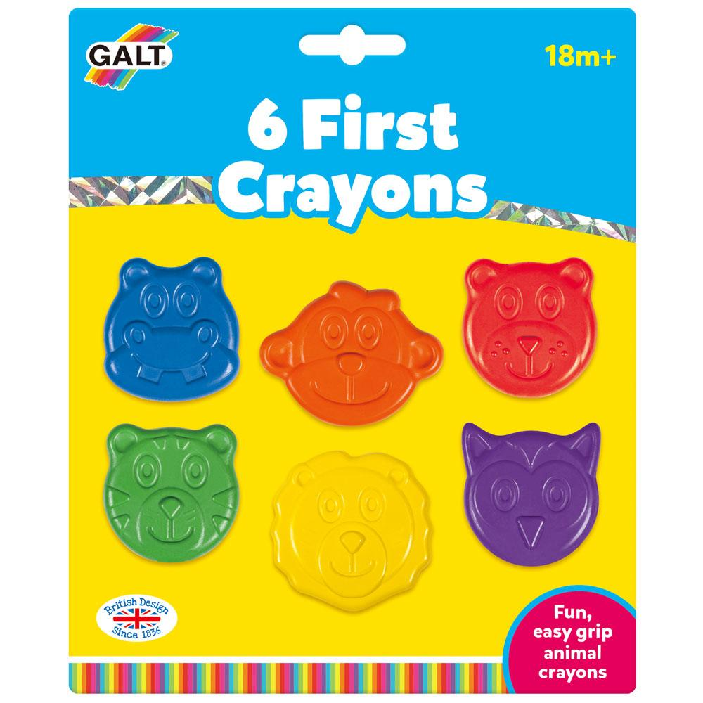 6 First Crayons
