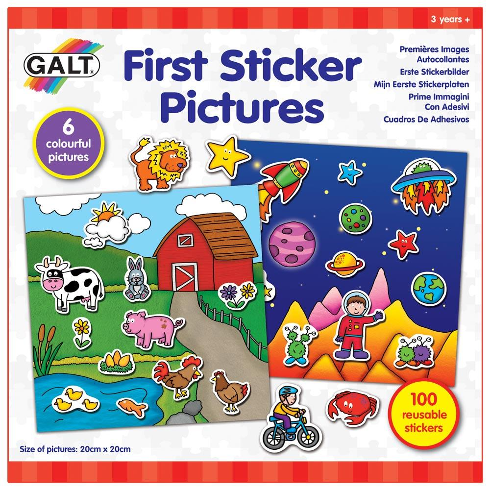 First Sticker Pictures