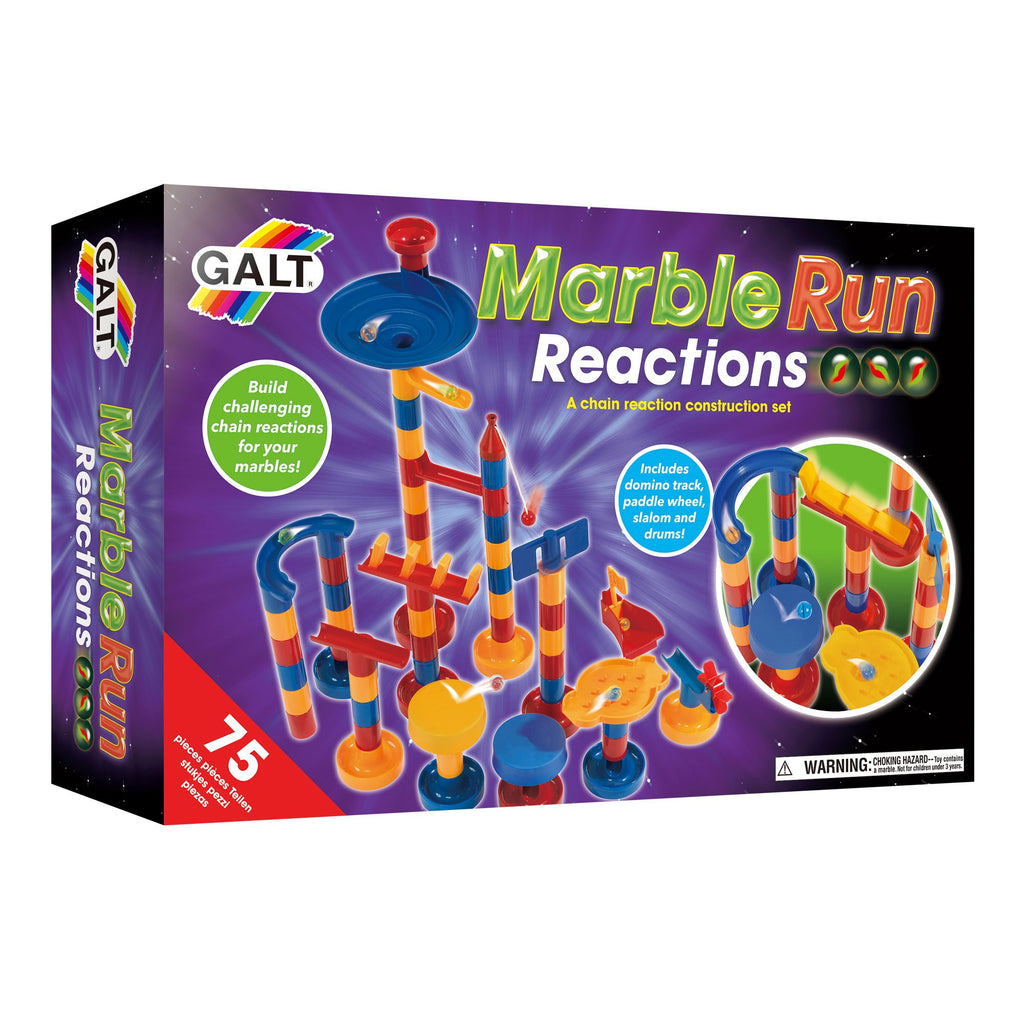 Marble Run Reactions