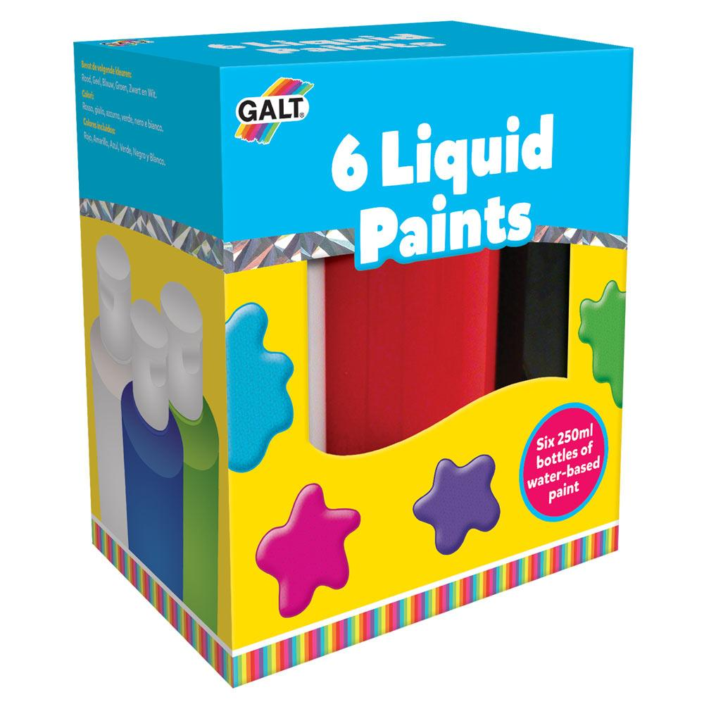 6 Liquid Paints