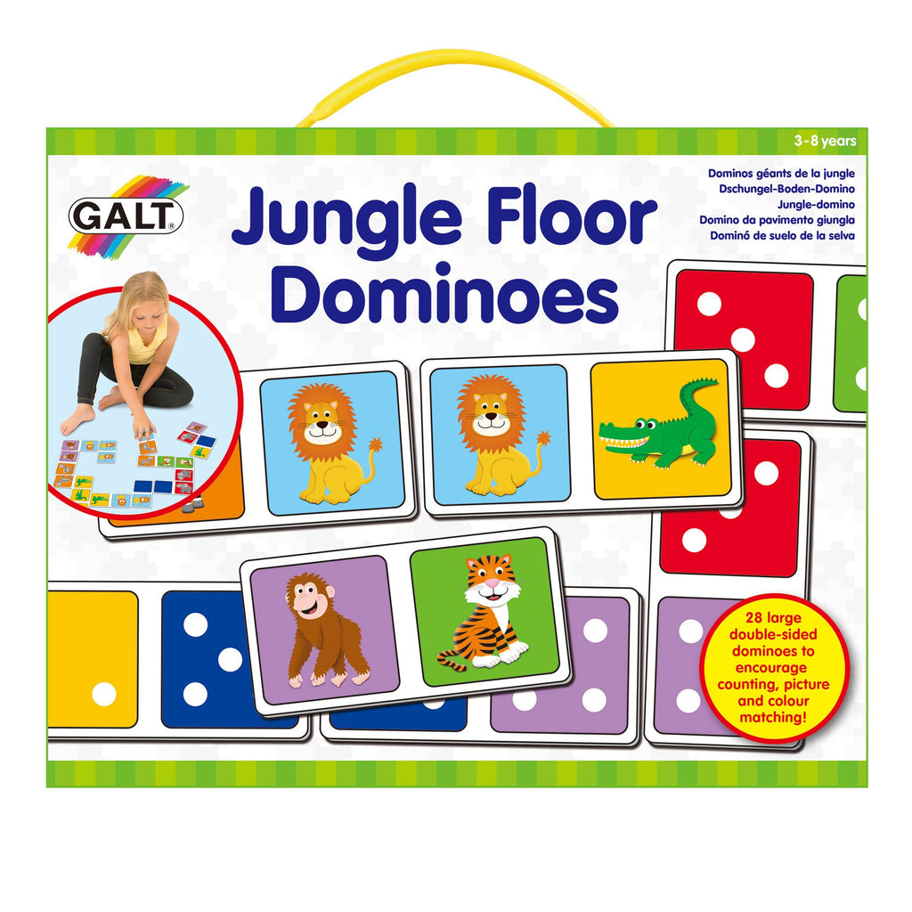 Jungle Floor Dominoes