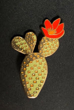 Load image into Gallery viewer, Cactus Flower Lapel Pin Badge