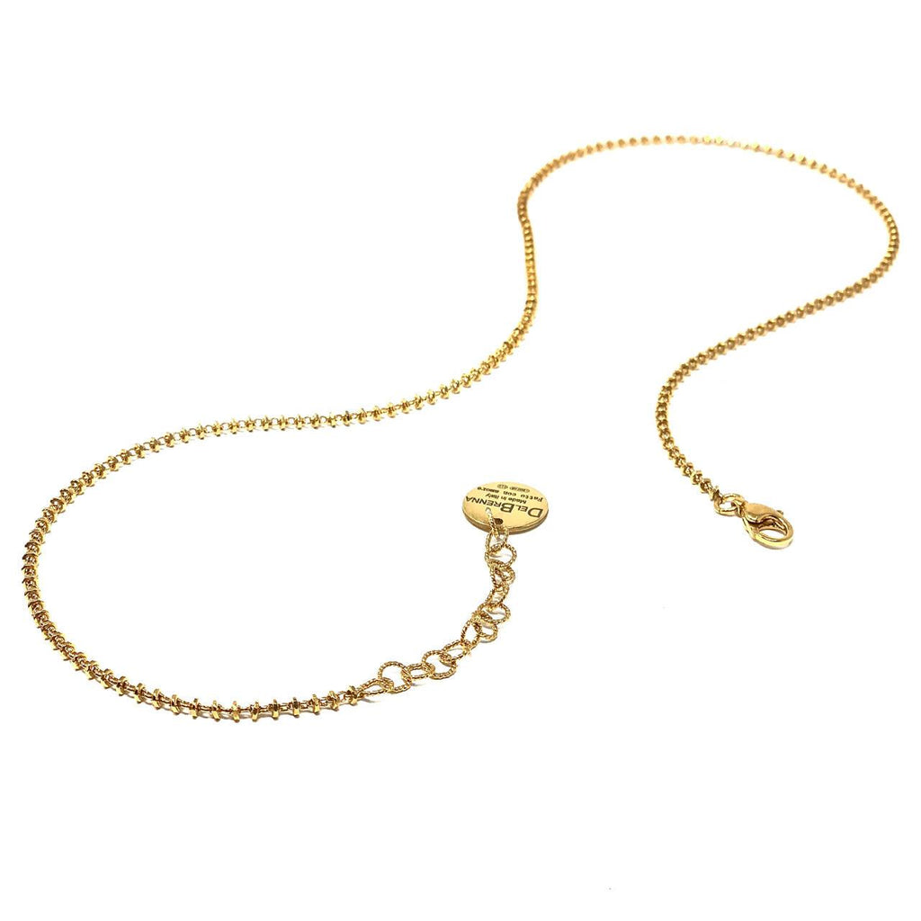 Necklace Luce 2mm B Gold