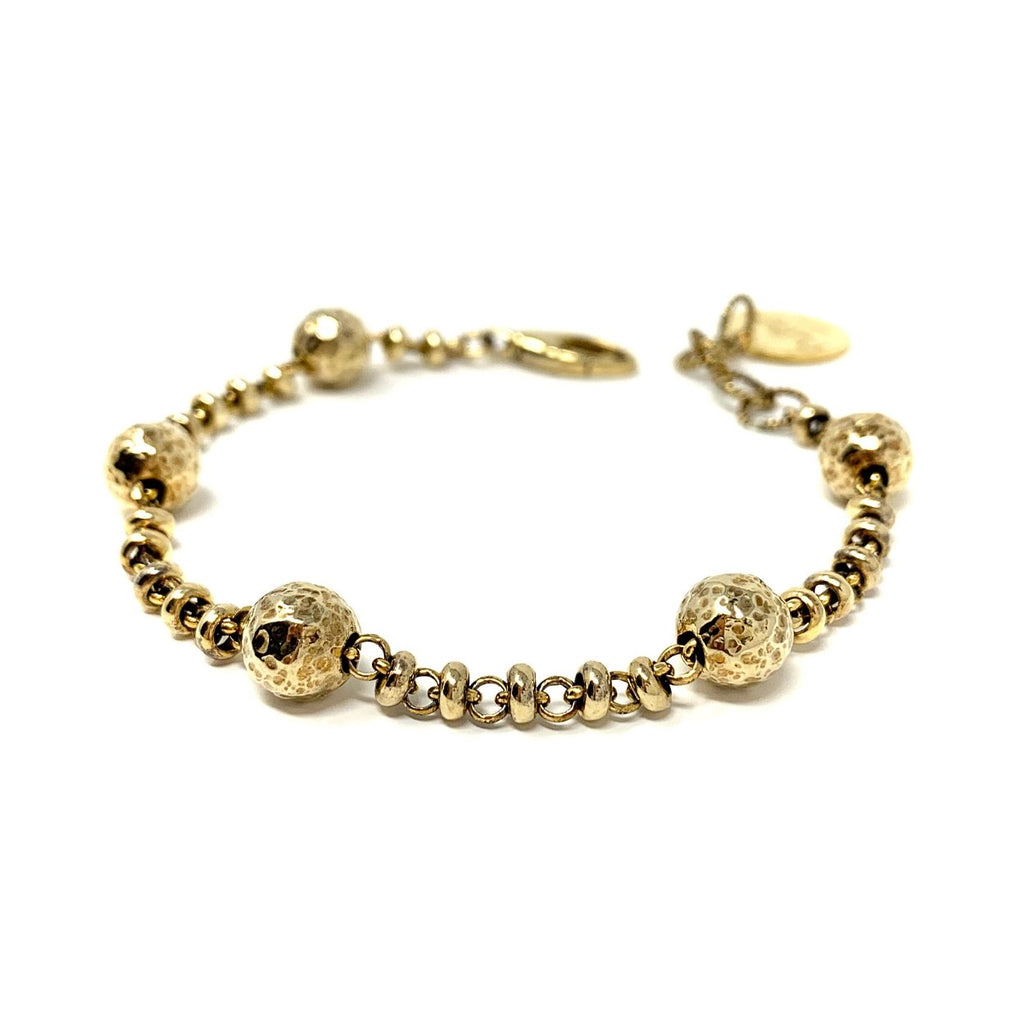 Bubbles Bracelet (Antique Gold)