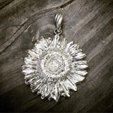The DelBrenna Sunflower pendant! A favorite in Tuscany! #sunflowerlove #sunflowerpower #girasole🌻