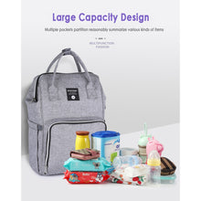 Load image into Gallery viewer, Insular Diaper Bag Backpack Stroller Bag