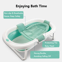 Load image into Gallery viewer, Folding Portable Baby Bathtub