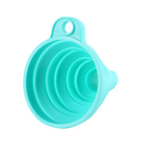 Mini Portable Silicone Collapsible Funnel