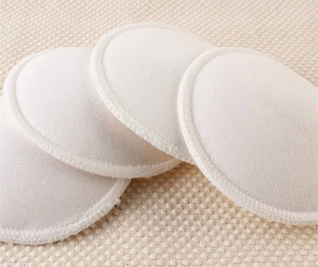 Eco-friendly Bamboo Nursing Pads Washable Waterproof