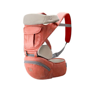 Baby Carrier Front and Back Hip Seat