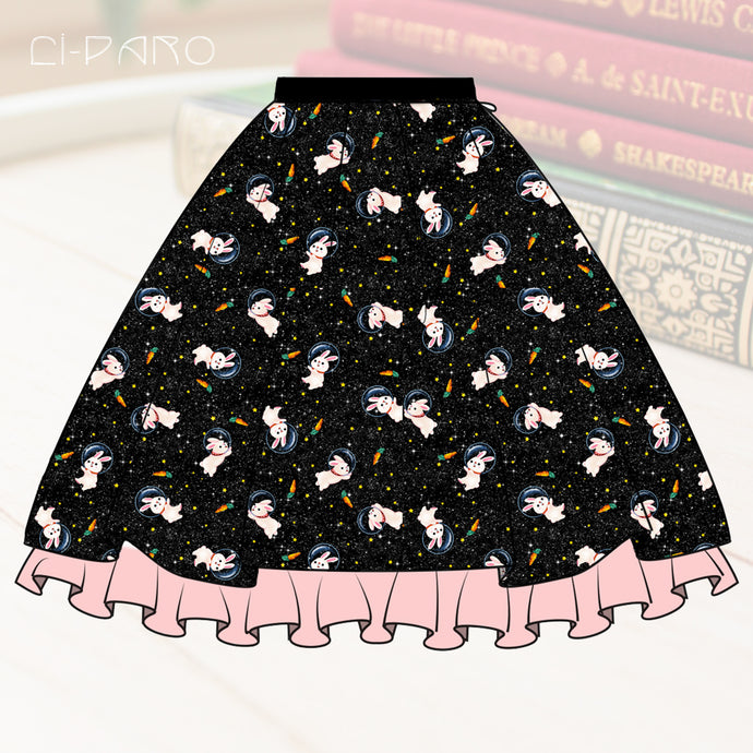 PRE-ORDER Spacebunnies Skirt